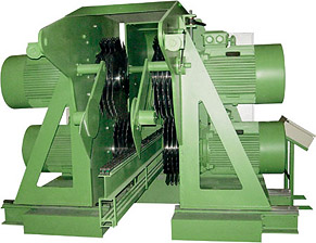 Hochleistungs-Doppelwellen-Bauholzkreissäge MS Maschinenbau GmbH
